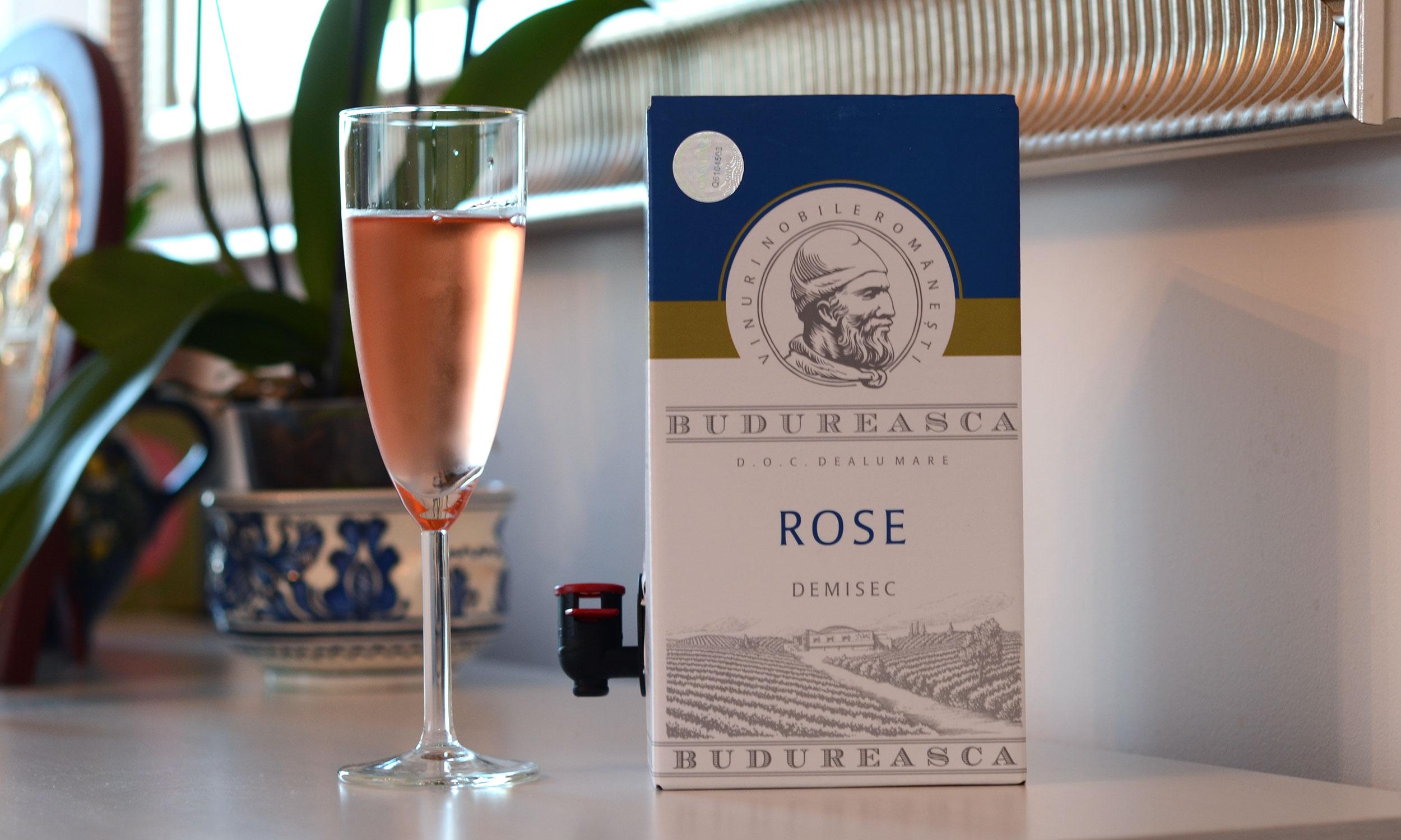 Budureasca, rosé, 2015