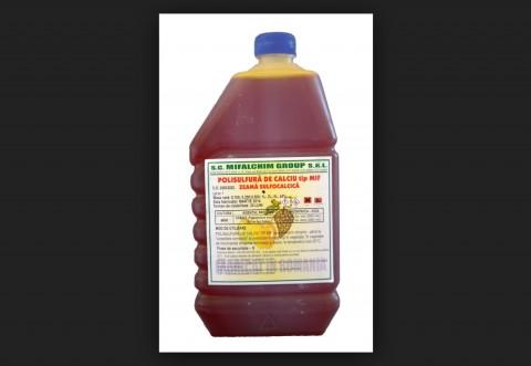 Polisulfură de calciu tip MIF (zeamă sulfocalcică)