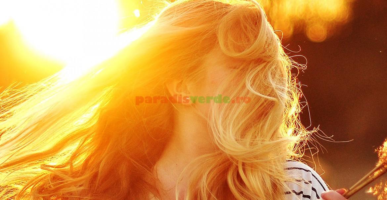 Floarea de tei vă face părul și mai frumos!