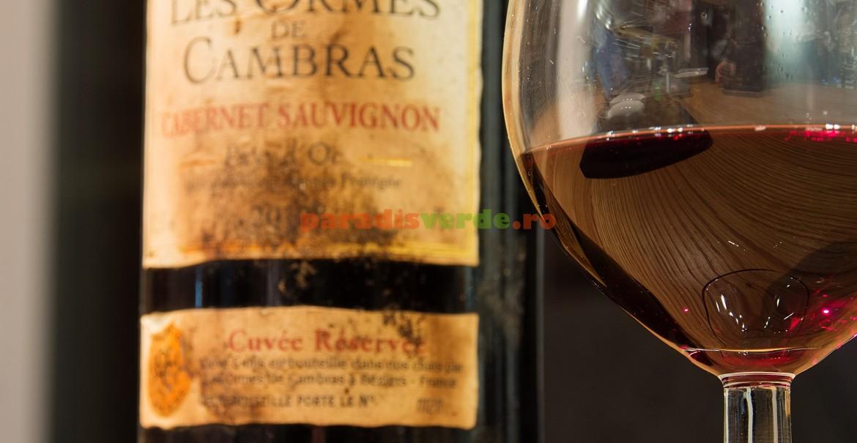 Cabernet Sauvignon se numără printre vinurile care, prin învechire, își sporesc calitățile.